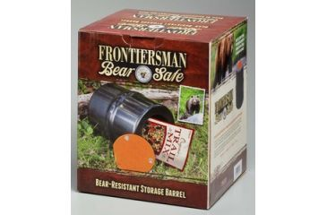 Sabre Frontiersman Bear Safe Bear Resistant Container, Black FBS-01