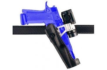 Safariland 010 ''Tactical Option'' Competition Holster for Pistols - Carbon Fiber Look Black, Left Hand 010-853-652