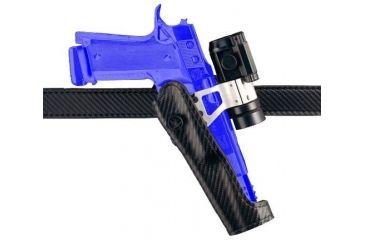 Safariland 010 ''Tactical Option'' Competition Holster for Pistols - Carbon Fiber Look Black, Left Hand 010-8536-652