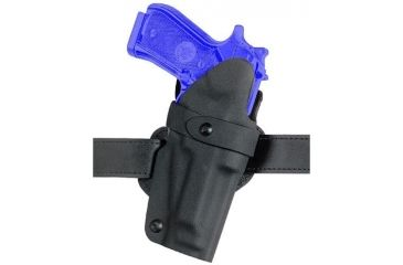 Safariland 0701 Concealment Belt Holster - STX TAC Black, Left Hand 0701-283-132-175