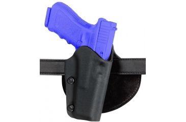 Safariland 0702 Self-Securing Paddle Belt Holster - STX TAC Black, Left Hand 0702-74-132
