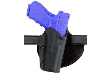 Safariland 0702 Self-Securing Paddle Belt Holster - STX TAC Black, Left Hand 0702-97-132