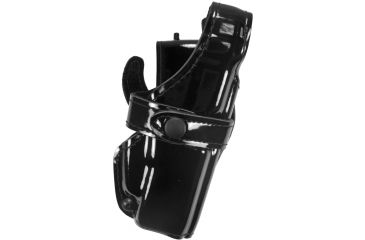 Safariland 0705 Duty Holster, SSIII Low-Ride, Level III Retention - Hi Gloss Black, Right Hand 0705-83-91