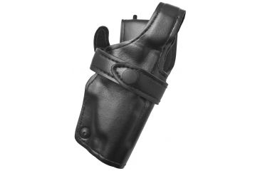 Safariland 0705 Duty Holster, SSIII Low-Ride, Level III Retention - Plain Blk, R Hand 0705-218-161