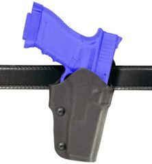 Safariland 0706 Self-Securing Belt Slide Holster - STX TAC Black, Left Hand 0706-71-132
