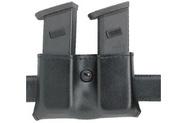 Safariland 079 Concealment Magazine Holder, Snap-On, Double - Carbon Fiber Look Black, Ambidextrous 079-18-65