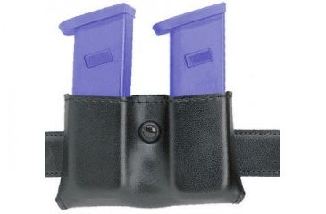Safariland 079 Concealment Magazine Holder, Snap-On, Double - Basket Black, Ambidextrous 079-18-8