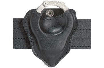 Safariland 090-22 Black Nylon-Look Open-Top Formed Handcuff Pouch
