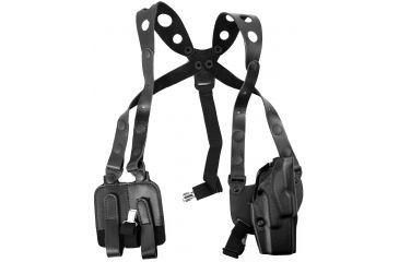 Safariland 1051 ALS Shoulder Holster - Black, Right Hand - Glock 17/19/27 & Similar - 283-61