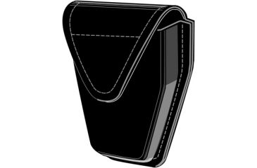 Safariland 190H-HS Handcuff Pouch, Top Flap, Hidden Snap, for Hinged Cuffs 190H-2HS