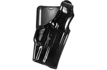 Safariland 200 Top Gun Mid-Ride, Level I Retention Holster - Hi Gloss Black, Right Hand 200-744-91