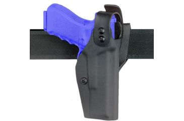 Safariland 284 Mid-Ride, STX TACTICAL Level I Retention Holster - STX TAC Black, Right Hand 284-73-131