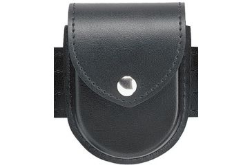 Safariland 290 Double Handcuff Pouch, Top Flap 290-9PBL