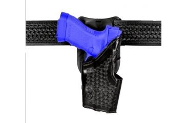 Safariland 2955 Low-Ride, Level II Retention Holster - Basket Black, Left Hand 2955-383-82
