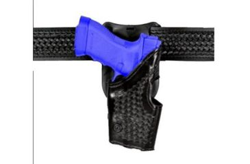 Safariland 2955 Low-Ride, Level II Retention Holster - Hi Gloss Black, Right Hand, Old BL Style 2955-383-91OBL