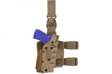 Safariland 3085 Military Tactical Holster - STX Tactical Black, Ambidextrous