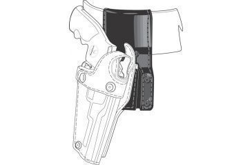 Safariland 325 Duty Belt Drop, Holster Adapter 325-4