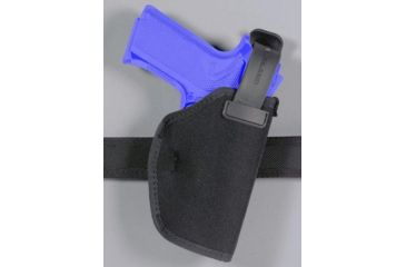 Safariland 4070 ''Hi-Ride'' Thumb Break Holster - Plain Black, Left Hand 4070-09-42