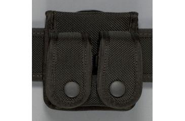 Safariland 4135 Speedloader Holder w/Insert, Double - Black, Ambidextrous 4135-3-4BL
