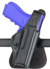 Safariland 518 Paddle Holster - Carbon Fiber Look Black, Left Hand 518-40-652