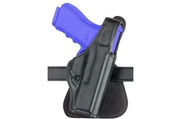 Safariland 518 Paddle Holster - Plain Black, Left Hand 518-18-62