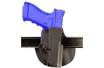 Safariland 5188 Paddle Holster for Pistols - STX Plain Black, Left Hand 5188-99-412