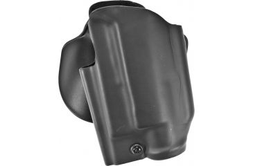 Safariland 5188 Paddle Holster for Pistols - STX Plain Black, Left Hand, Glock w/ Lights 17