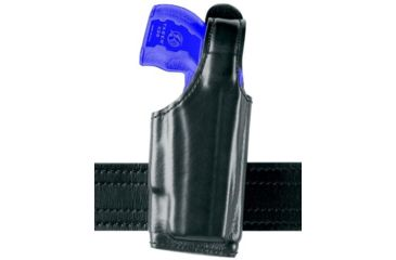 Safariland 520 EDW Holster with Thumb Break, Clip on Belt Loop, Adjustable Angle - Basket Black, Left Hand 520-63-82