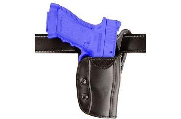 Safariland 567 Custom Fit for Pistols Holster - STX Plain Black, Right Hand 567-12-411