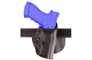 Safariland 568 Custom Fit for Revolvers Holster - STX Plain Black, Right Hand 568-09-411