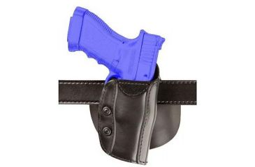 Safariland 568 Custom Fit for Revolvers Holster - STX Plain Black, Right Hand 568-51-411