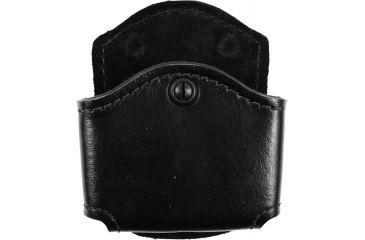Safariland 572 Concealment Magazine Holder, Paddle, Double - Plain Black, Ambidextrous 572-53-2
