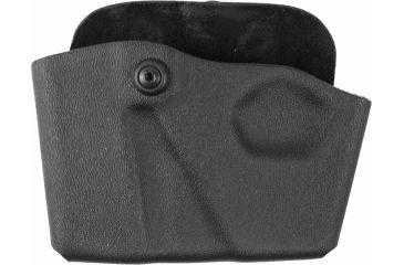 Safariland 573 Concealment Paddle Single Magazine & Cuff Pouch - STX Black, Ambidextrous - Glock 39 & Similar