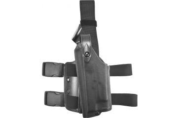 Safariland 6004 SLS Tactical Holster - Tactical Black, Left Hand 6004-6832-122