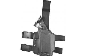 Safariland 6004 SLS Tactical Holster, Tactical Black, Left Hand - Glock 20/21