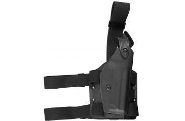 Safariland 6004 SLS Tactical Holster - Tactical Black, Right Hand 6004-93-121
