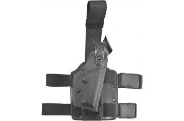 Safariland 6004 SLS Tactical Holster - Tactical Black, Right Hand 6004-97-121
