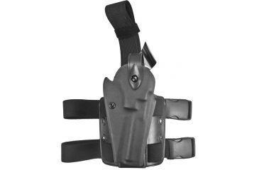 Safariland 6004 SLS Tactical Holster - Tactical Black, Right Hand, Hood Guard Sentry Protection 6004-09-121-SH