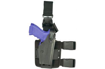 Safariland 6005 SLS Tactical Leg Holster w/Sentry Protection, Beretta 92,96, Black