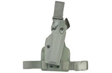 Safariland 6005 SLS Tactical Holster w/Quick Release Leg Harness, Right, STX Foliage Green, Glock 21SF