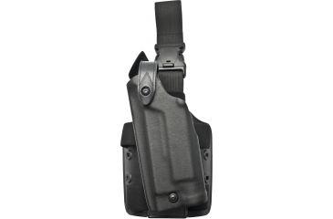 Safariland 6005 Sls Tactical Holster W Quick Release Leg Harness Tactical Black Left Hand 6005 836 122