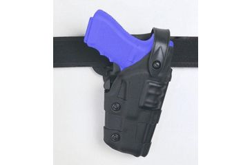 Safariland 6070 Raptor Level III, Mid-Ride UBL Holster - STX TAC Black, Right Hand 6070-774-131