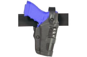Safariland 6270 Raptor Level III, Mid-Ride UBL Holster - STX Plain Black, Left Hand 6270-83-412