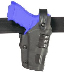 Safariland 6270 Raptor Level II Plus, Mid-Ride UBL Holster - Plain Black, Right Hand 6270-73-61