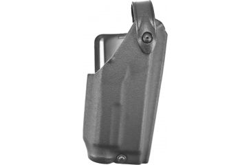Safariland 6280 Level II Mid-Ride Holster, STX Black, Right Hand, 2in. Belt Slot - Glock 20/21 w/Light