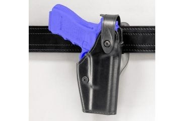 Safariland 6280 Level II Retention, Mid-Ride Holster - STX TAC Black, Left Hand 6280-219-132