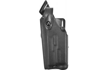 Safariland 6280 Mid-Ride Holster, STX Black, Left Hand, Hood Guard- Glock 17/22 w/ Light