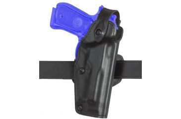 Safariland 6281 Belt Holster, Self-Locking System - STX TAC Black, Left Hand 6281-1740-132