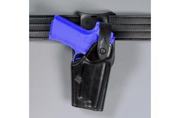 Safariland 6285 1.50'' Belt Drop, Level II Retention Holster - Basket Black, Right Hand 6285-1376-81