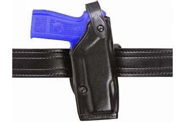 Safariland 6287 Concealment SLS Belt Holster - Plain Black, Left Hand 6287-6121-62